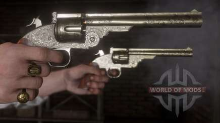 Weapons in RDR 2