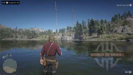 Pesca do robalo em RDR 2