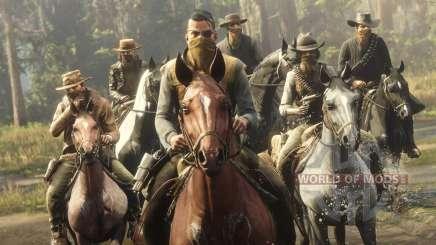 Modos Multiplayer em Red Dead Online