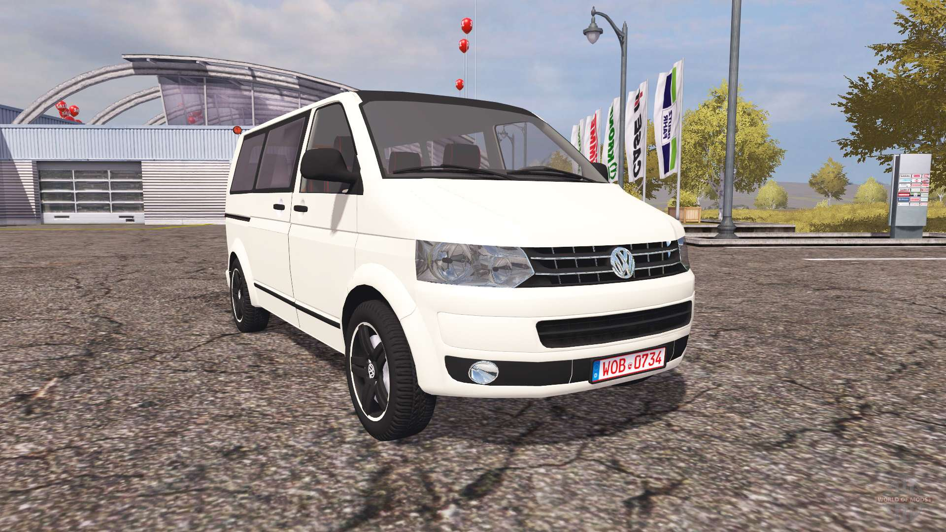 volkswagen transporter t5 v2 0 para farming simulator 2013. Black Bedroom Furniture Sets. Home Design Ideas