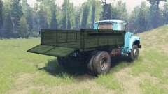 A cor Verde para o corpo de ZIL 130