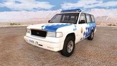 Gavril Roamer spanish police v3.5 para BeamNG Drive