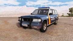 Gavril Roamer spanish police v3.2 para BeamNG Drive