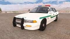 Gavril Grand Marshall cedarwood police para BeamNG Drive