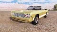 Gavril Barstow convertible v1.4 para BeamNG Drive