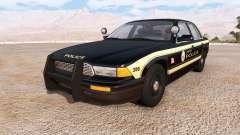 Gavril Grand Marshall jenisen police v2.0 para BeamNG Drive