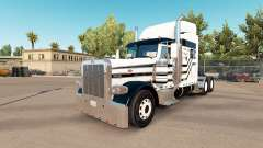 Três listras pele para o caminhão Peterbilt 389
