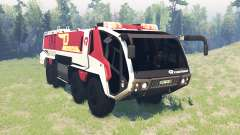 Rosenbauer Panther 8x8 CA7 v0.8 para Spin Tires