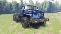 Cor de Inverno camo Ural 4320-10