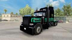 Скин de Menta Verde E Preto на Peterbilt 389 para American Truck Simulator