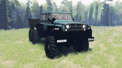 UAZ Jogo 6x6