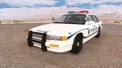 Gavril Grand Marshall wayland police v2.0 para BeamNG Drive