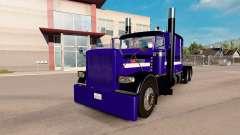 Purple Rain pele para o caminhão Peterbilt 389