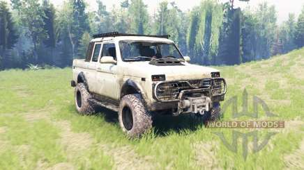 VAZ 2329 Niva para Spin Tires