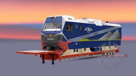 Railway cargo pack v1.7.1 para Euro Truck Simulator 2
