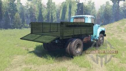 A cor Verde para o corpo de ZIL 130 para Spin Tires
