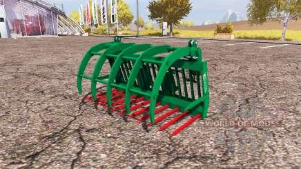 Albutt grapple fork para Farming Simulator 2013