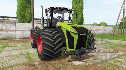 CLAAS Xerion 4500 v1.0.5 para Farming Simulator 2017