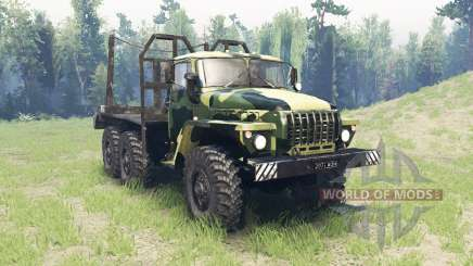 A cor é Verão camuflagem para Ural 4320 para Spin Tires