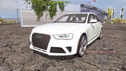 Audi RS4 Avant (B8) v2.0 para Farming Simulator 2013
