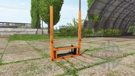 Hauer bale fork para Farming Simulator 2017