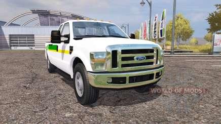 Ford F-350 John Deere para Farming Simulator 2013