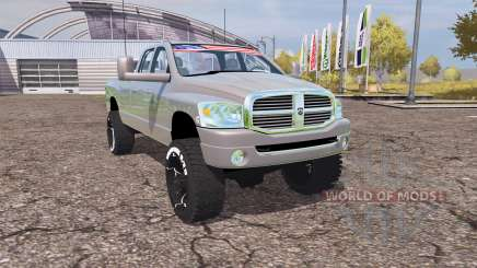 Dodge Ram 2500 2008 v2.0 para Farming Simulator 2013