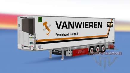 Trailer Chereau Van Wieren para Euro Truck Simulator 2