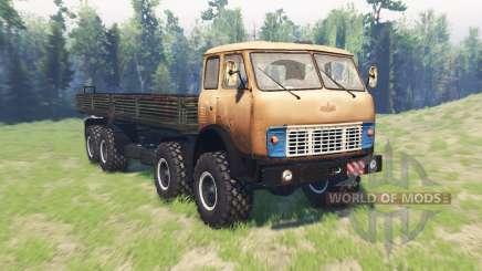 MAZ 8x8 515Р v2.1 para Spin Tires