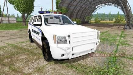 Chevrolet Tahoe Sheriff para Farming Simulator 2017