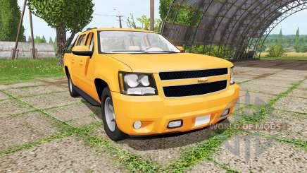 Chevrolet Avalanche (GMT900) para Farming Simulator 2017
