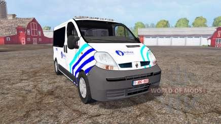 Renault Trafic Police para Farming Simulator 2015