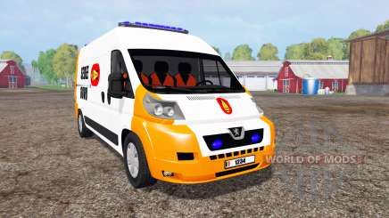 Peugeot Boxer Sedee-Dovo para Farming Simulator 2015