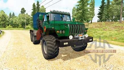 Ural 43202 v3.4 para Euro Truck Simulator 2