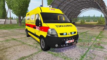 Renault Master Ambulance para Farming Simulator 2017