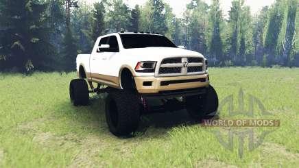Dodge Ram 2500 Laramie Longhorn para Spin Tires