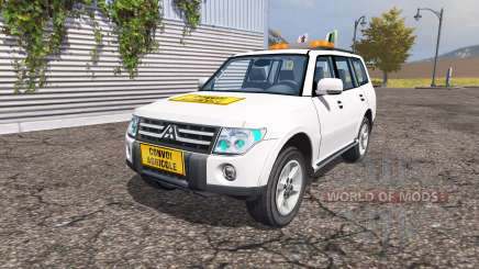 Mitsubishi Montero v2.0 para Farming Simulator 2013