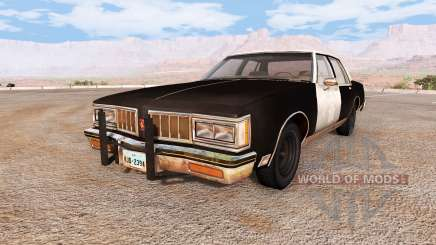 Oldsmobile Delta 88 highway patrol retired para BeamNG Drive
