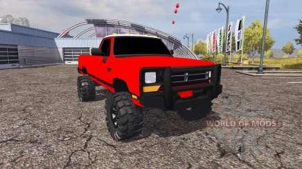 Dodge Power Ram para Farming Simulator 2013
