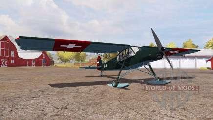 Fieseler Fi 156 Storch para Farming Simulator 2013
