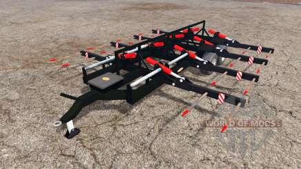 Ritchie bale trailer para Farming Simulator 2015