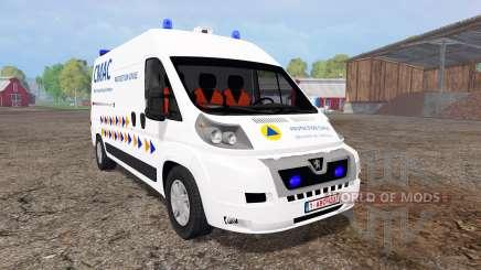Peugeot Boxer CMAC para Farming Simulator 2015