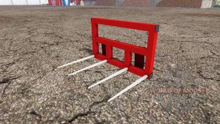 Wiko-Tec ballen gabel para Farming Simulator 2015