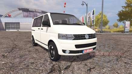 Volkswagen Transporter (T5) v2.0 para Farming Simulator 2013