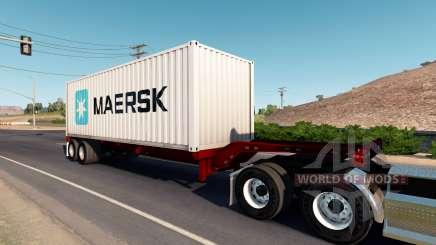 Cheetah container chassis para American Truck Simulator