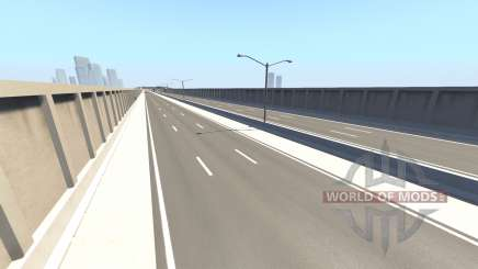 Matrix freeway v1.7 para BeamNG Drive
