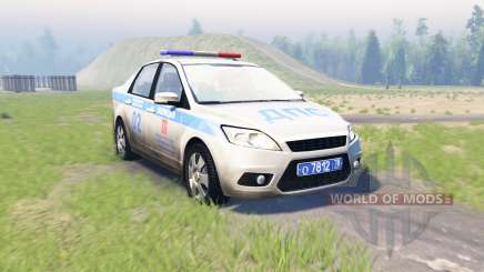 Ford Focus (DB3) ДПС para Spin Tires