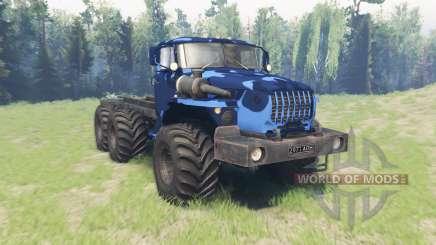 Cor de Inverno camo Ural 4320-10 para Spin Tires