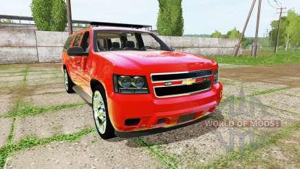 Chevrolet Suburban fire department para Farming Simulator 2017