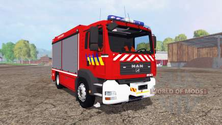 MAN TGA 28.430 Fire Rescue para Farming Simulator 2015